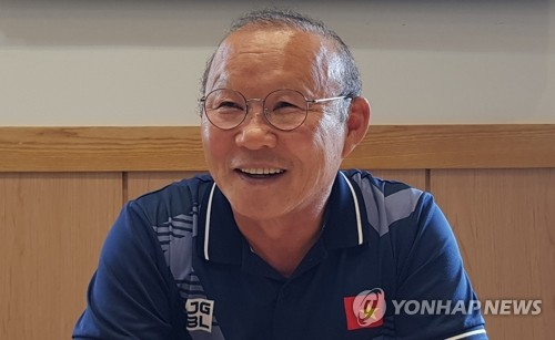 (Yonhap Interview) S. Korean coach for Vietnam football seeks 'long-term plans' on path to World Cup, Olympics