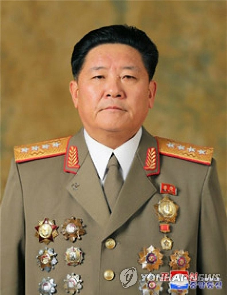 This photo disclosed by the Korean Central News Agency on Jan. 1, 2020, shows Kim Jong-gwan wearing the insignia of the four-star rank. (For Use Only in the Republic of Korea. No Redistribution) (Yonhap)