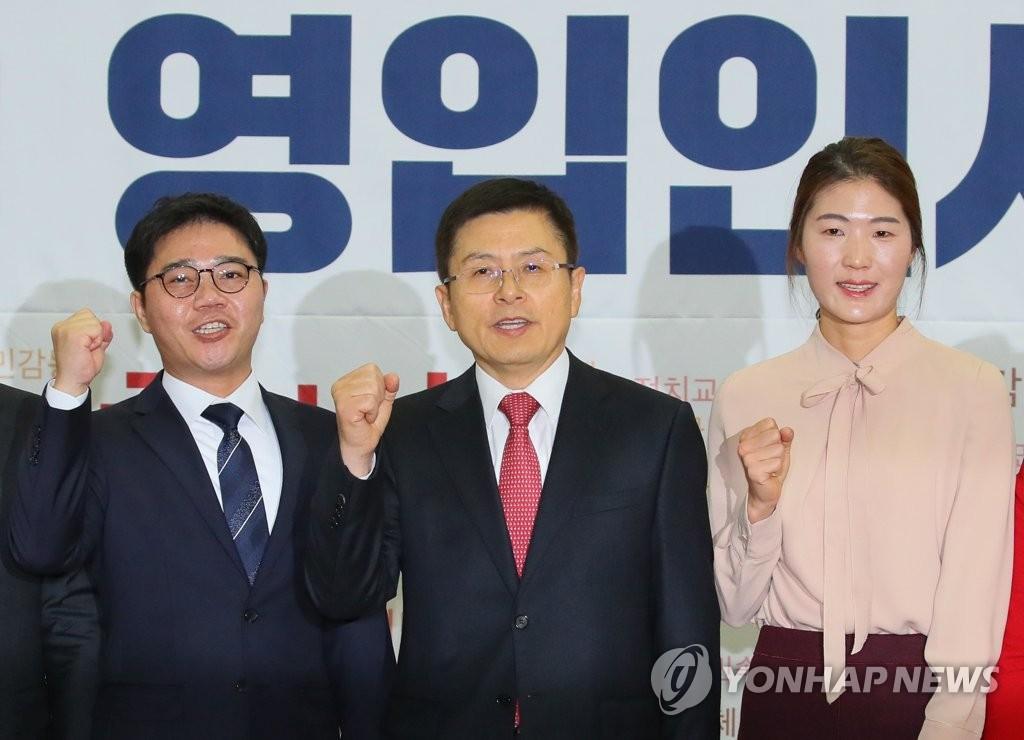한국당, 탈북 인권운동가 지성호·체육계 미투1호 김은희 영입