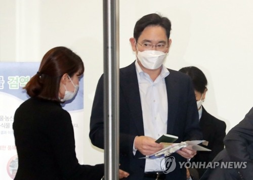 Samsung heir returns home from trip to chipmaking plant in China