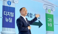 (LEAD) S. Korea to invest 160 tln won in 'New Deal' projects, create 1.9 mln jobs