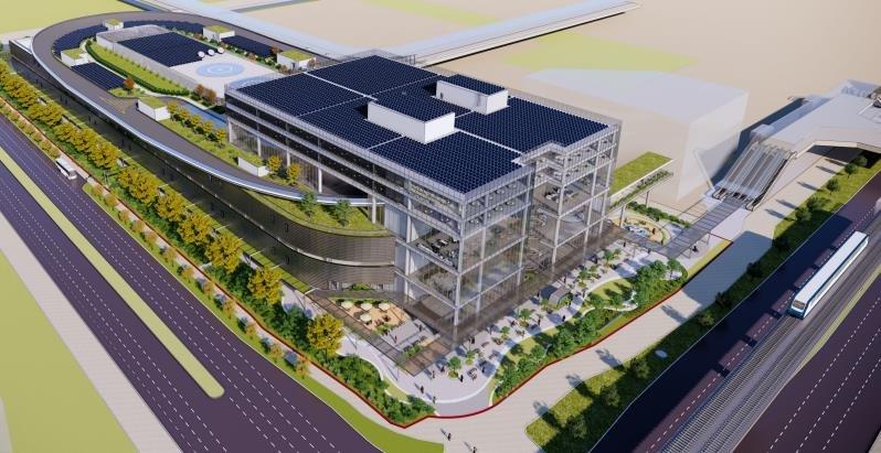 현대차그룹 싱가포르 글로벌 혁신센터 조감도