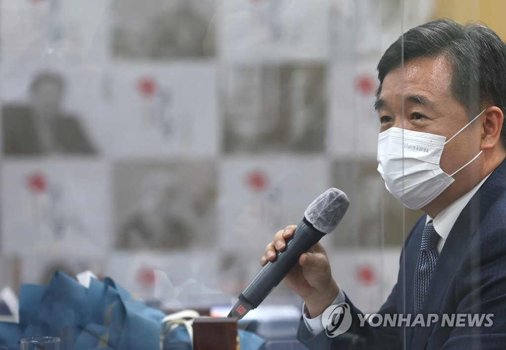 Acting Seoul Mayor Seo Jeong-hyup (Yonhap)
