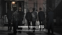 Samsung unveils new flagship phone with BTS, viral Korean act