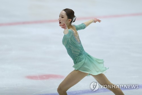 S. Korean figure skater Kim Ye-lim