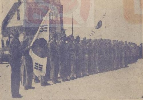 Rare photo of Korean independence fighters