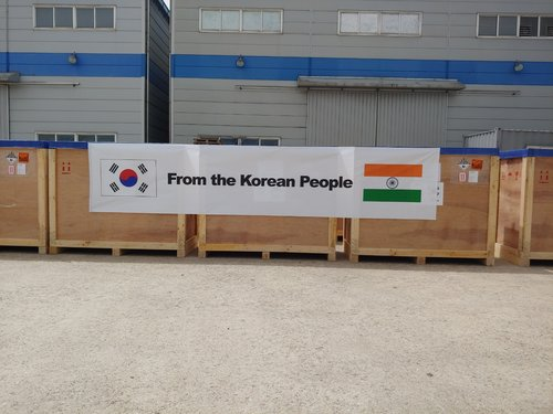 S. Korean assistance to India